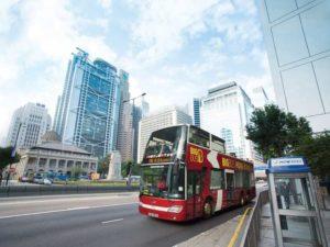 香港オープントップバス
